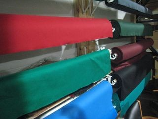 Pool table refelting, cloth colors, Detroit Michigan