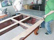 Pool table moves in Detroit Michigan