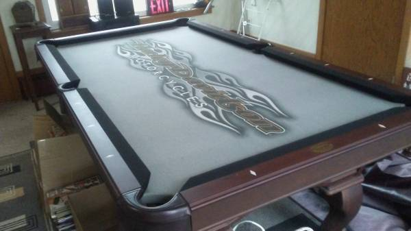 Solo 174 Troy Harley Davidson Pool Table 18
