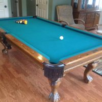 Pool Table Beach Billiards Table