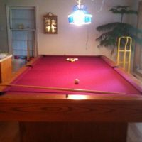 10' Snooker Table