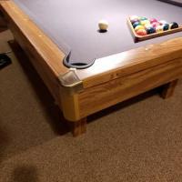 Brunswick Pool Table W/ Extras