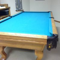 Olhausen, Made in USA, 8 ft Oak Pool Table