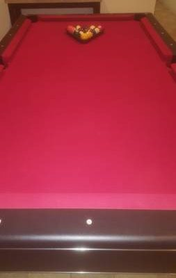 7' Brunswick Billiards Table Pool Table