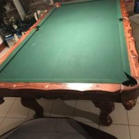 Beautiful Cuztomized pool table
