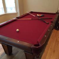 Pool Table Red Felt- Like New