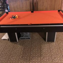 8foot Wolverine pool table