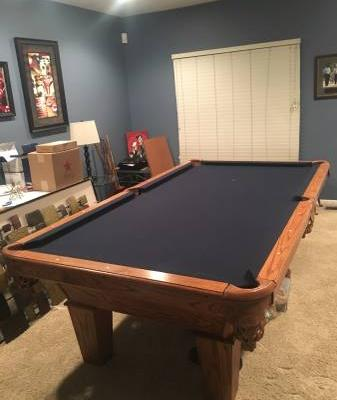 8' Pool Table plus extras