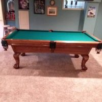 7' Leisure Bay Pool Table For Sale